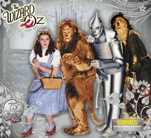 The Wizard of Oz 2014 Calendar: 75th Anniversary (Calendar)