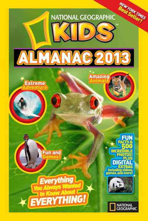 National Geographic Kids Almanac 2013 (Hardcover)