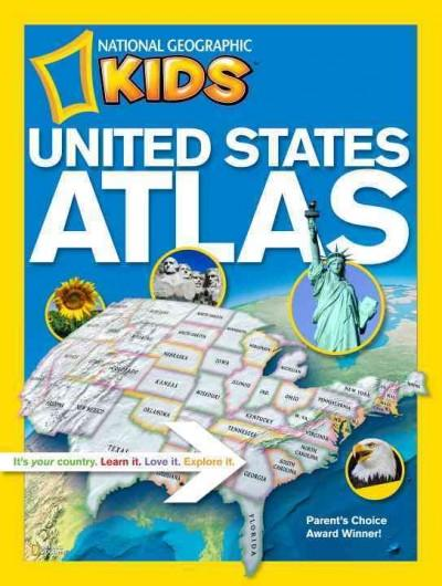 National Geographic Kids United States Atlas (Paperback)