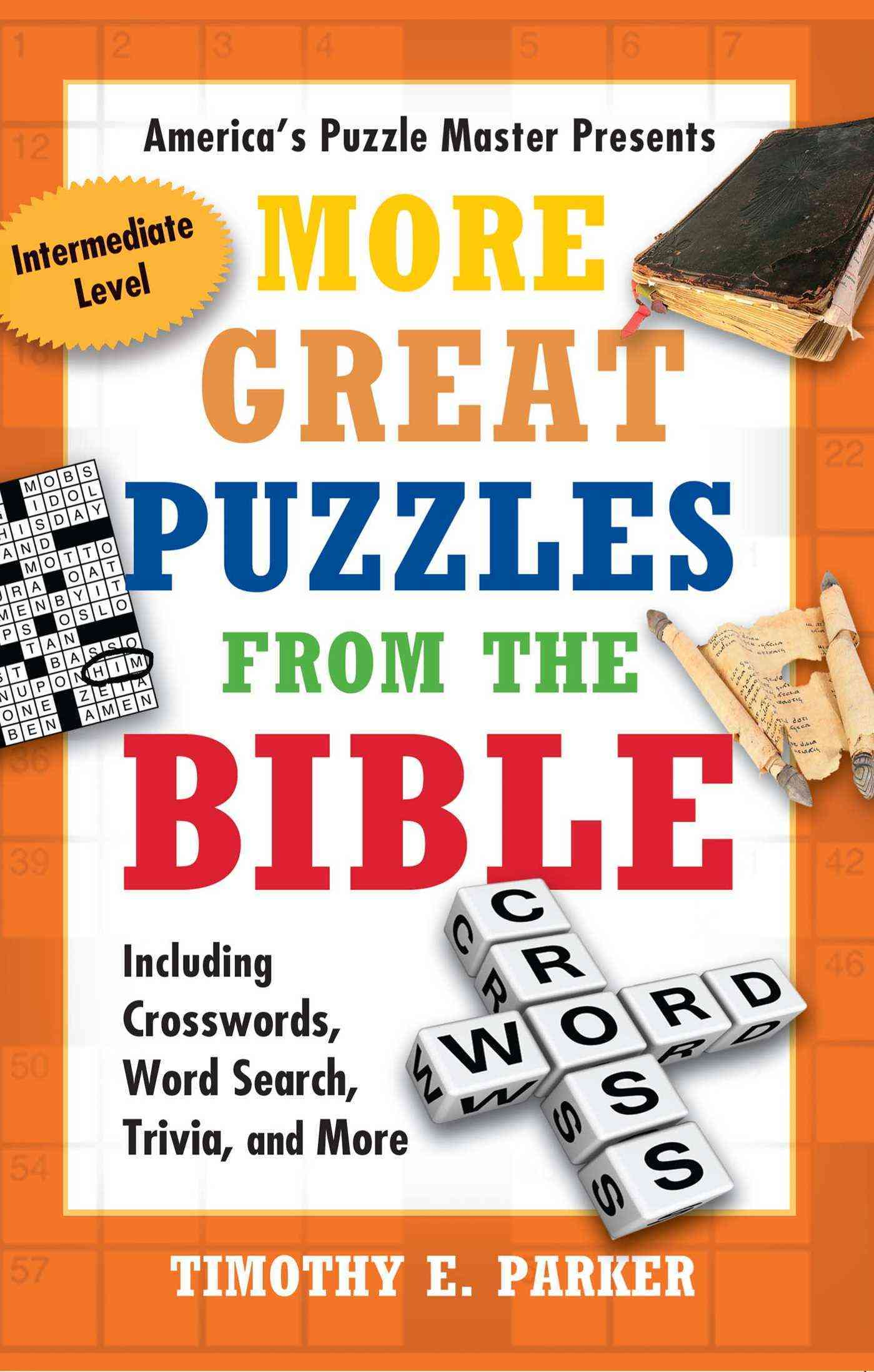 More Great Puzzles from the Bible: Including Crosswords, Word Search, Trivia, and More (Paperback)