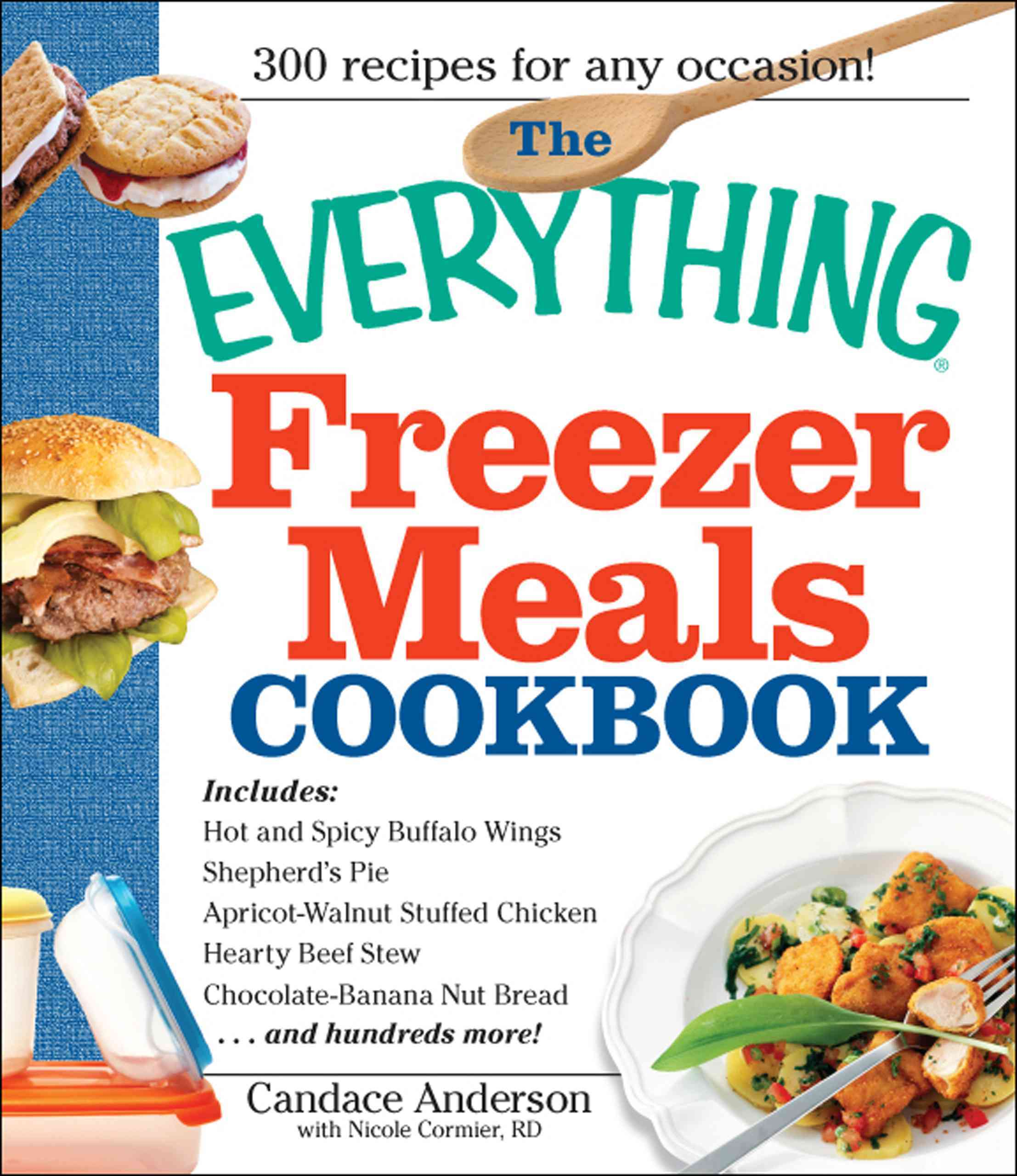 The Everything Freezer Meals Cookbook (Paperback)