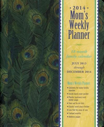 Feathers Mom's Weekly 2014 Planner 18-Month Family Calendar (Calendar)