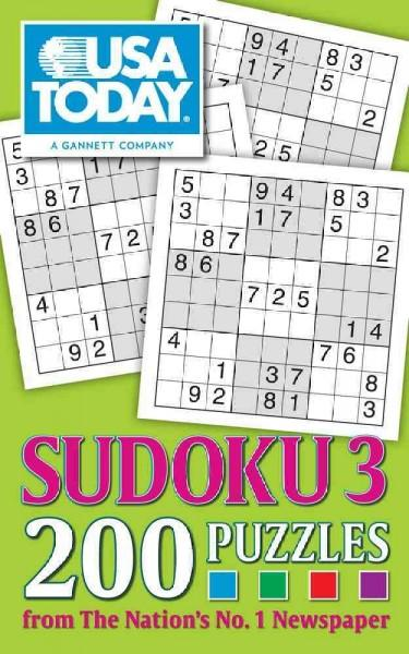 USA Today Sudoku 3: 200 Puzzles (Paperback)
