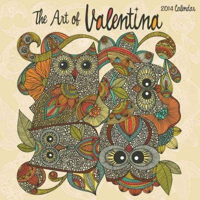 The Art of Valentina 2014 Calendar (Calendar)