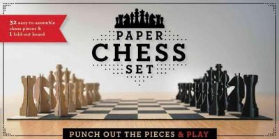 Paper Chess Set: Punch Out the Pieces and Play (Other book format)