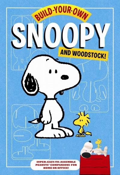 Build-Your-Own Snoopy and Woodstock!: Punch-out and Construct Your Own Desktop Peanuts Companions! (Toy)