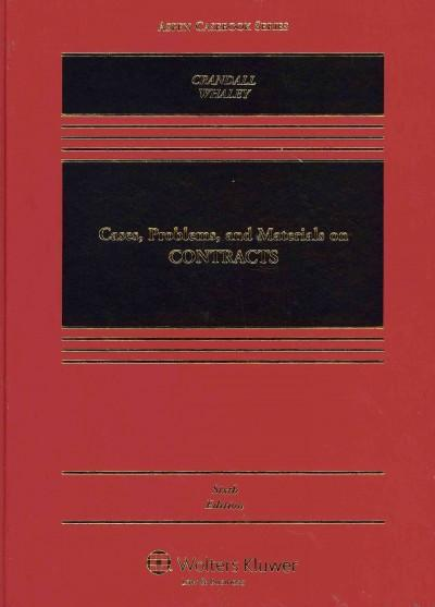 Cases, Problems, and Materials on Contracts (Hardcover)