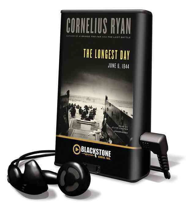 The Longest Day: June 6, 1944 (Pre-recorded digital audio player)