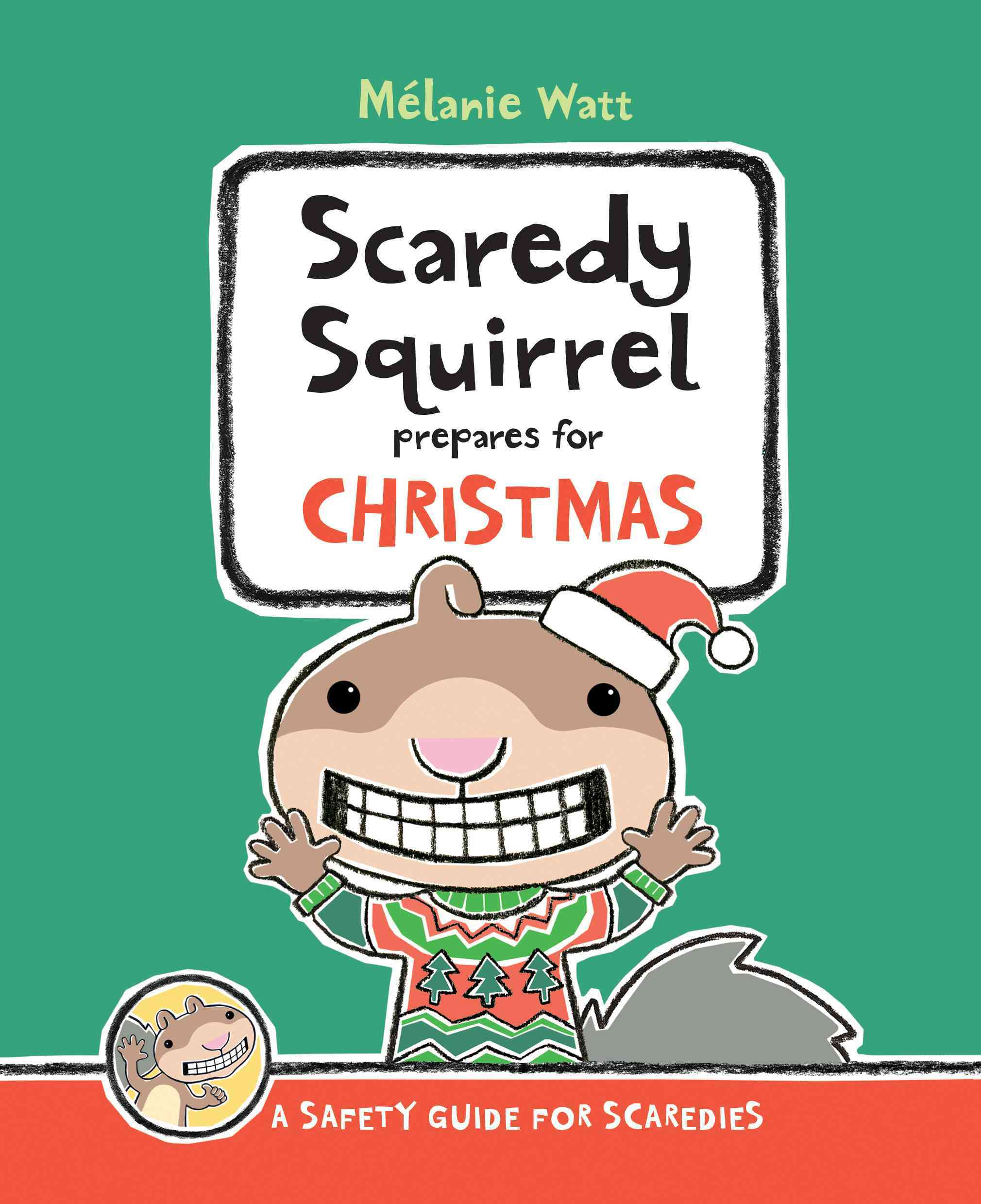 Scaredy Squirrel Prepares for Christmas (Hardcover)