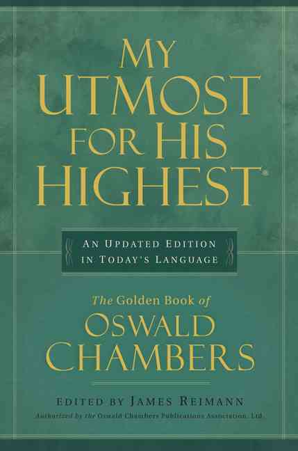 My Utmost for His Highest: In Today's Language (Paperback)