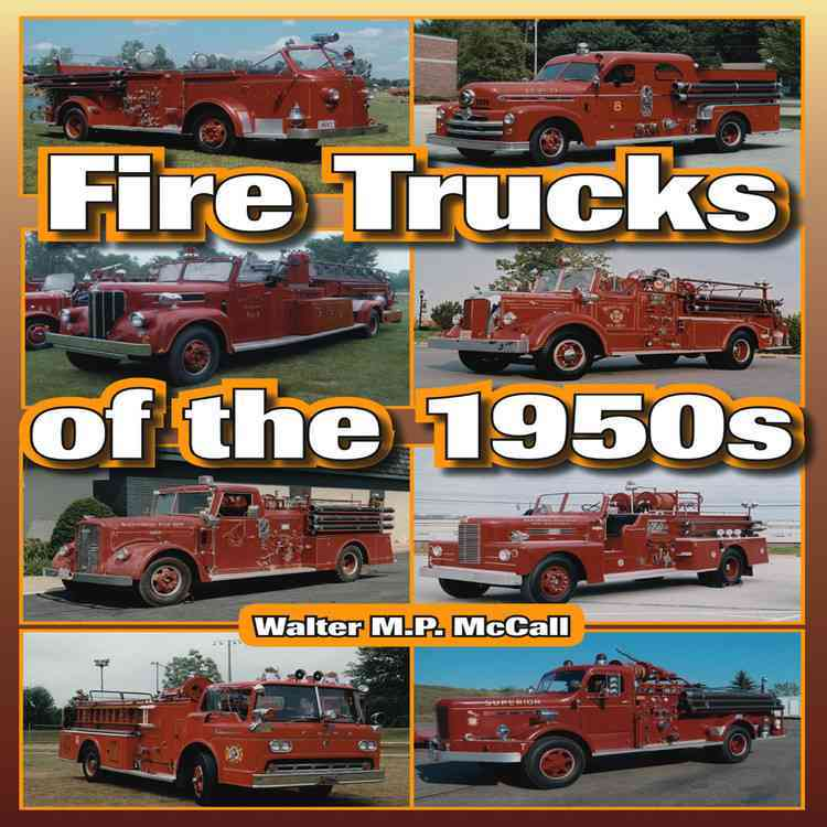 Fire Trucks of the 1950s (Paperback)