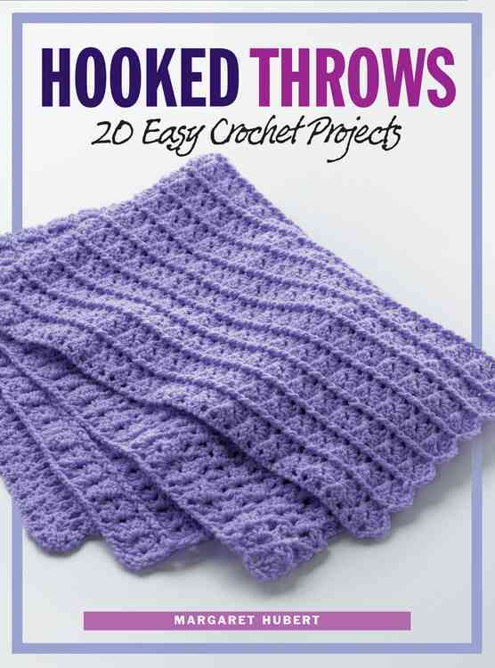 Hooked Throws: 20 Easy Crochet Projects (Paperback)