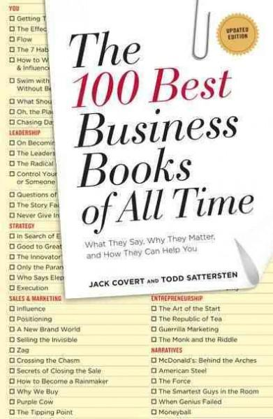 Buy best selling business books - The 100 Best Business Books of All Time: What They Say, Why They Matter, and How They Can Help You (Paperback)