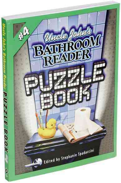 Uncle John's Bathroom Reader Puzzle Book 4(Paperback / softback)