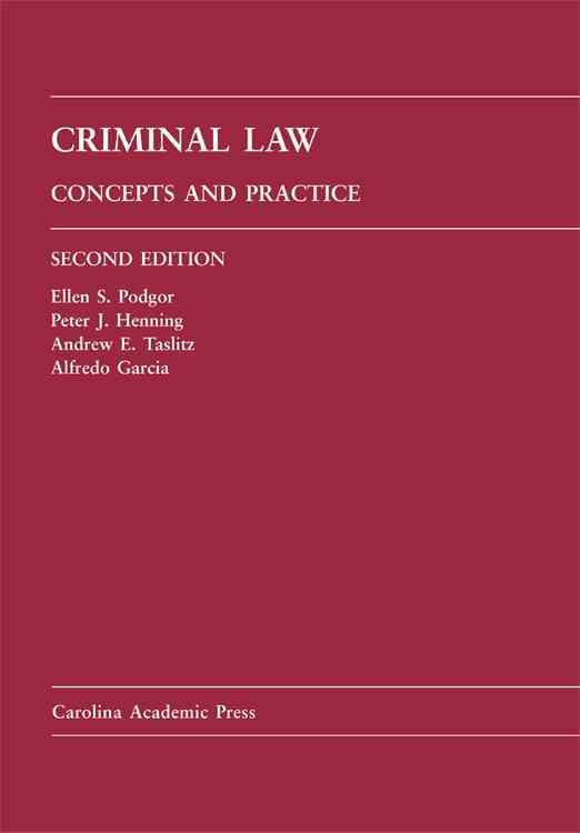 Criminal Law: Concepts and Practice (Hardcover)