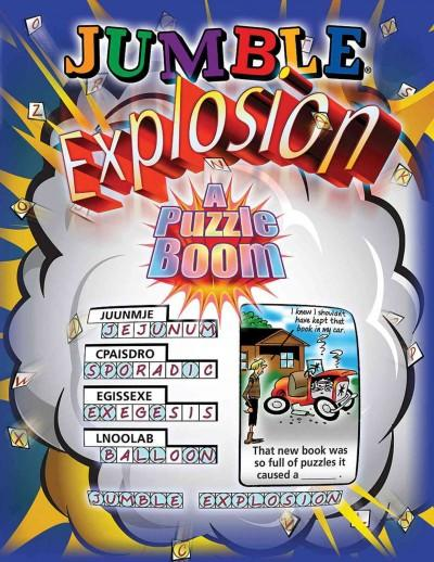 Jumble Explosion: A Puzzle Boom! (Paperback)