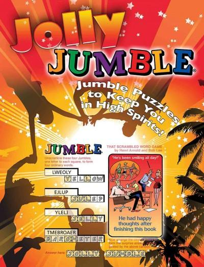 Jolly Jumble: Jumble Puzzles to Keep You in High Spirits! (Paperback)