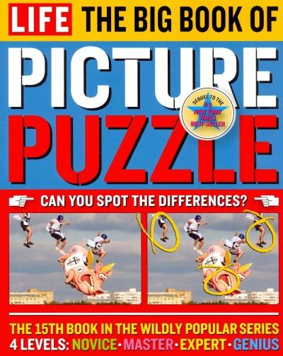 Life the Big Book of Picture Puzzle (Paperback)