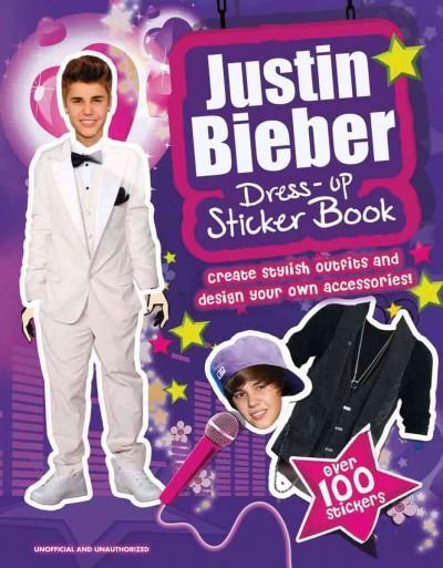Justin Bieber Dress-Up Sticker Book (Paperback)