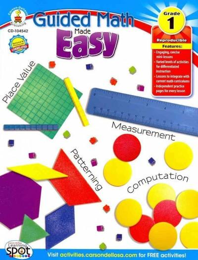 Guided Math Made Easy, Grade 1 (Paperback)