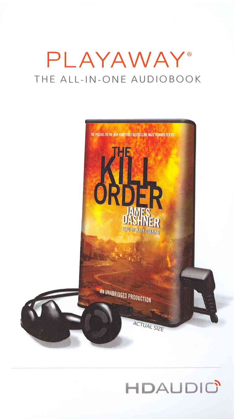 The Kill Order: Library Edition (Pre-recorded digital audio player)