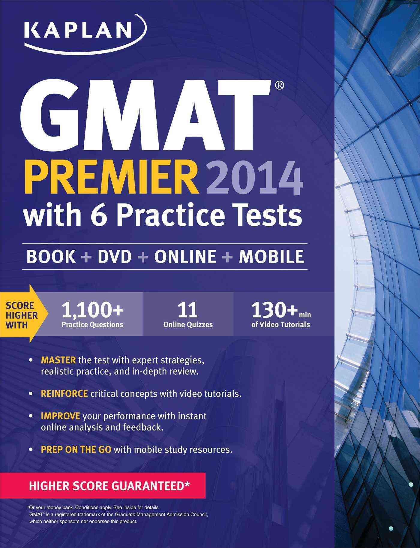 Kaplan GMAT Premier 2014: With 6 Practice Tests