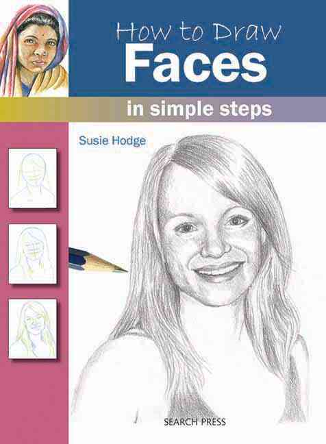 How to Draw Faces in Simple Steps (Paperback)