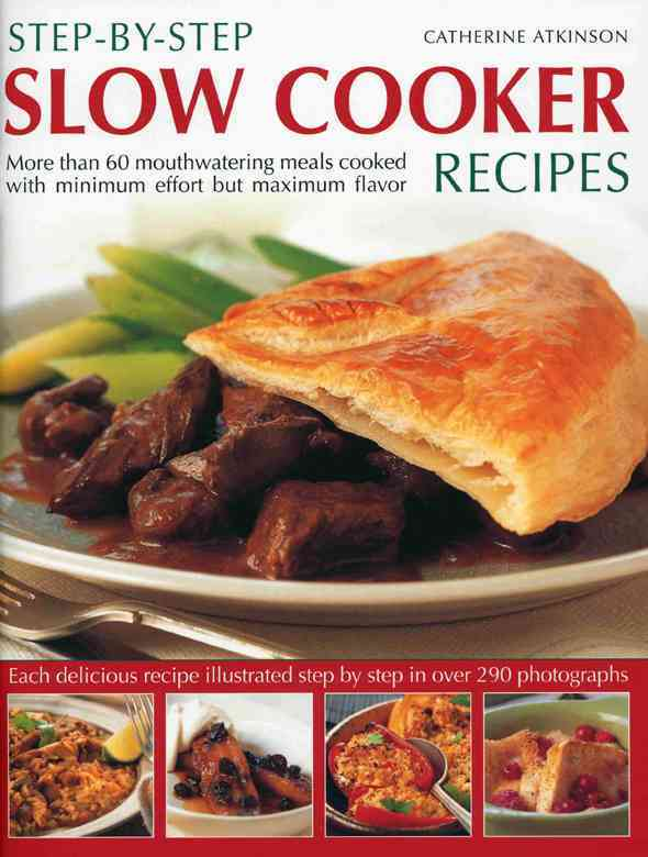 Step-by-Step Slow Cooker Recipes (Paperback)