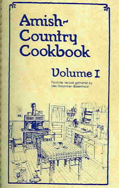 Amish-Country Cookbook (Spiral bound)