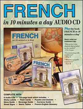 FRENCH in 10 minutes a day AUDIO CD