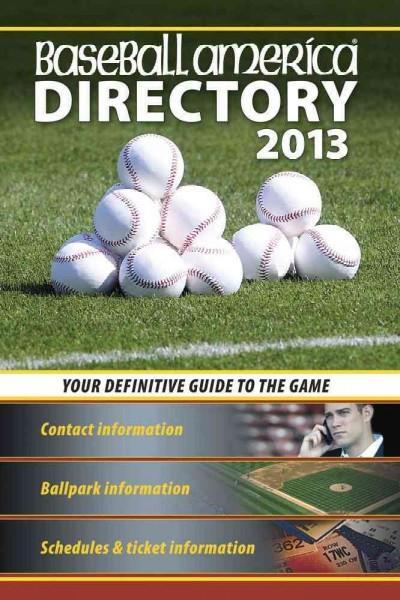 Baseball America Directory 2013 (Paperback)