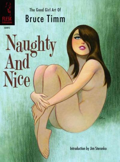 Naughty and Nice: The Good Girl Art of Bruce Timm (Paperback)