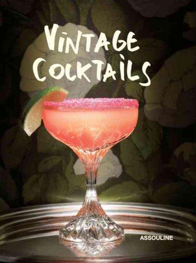 Vintage Cocktails (Hardcover)