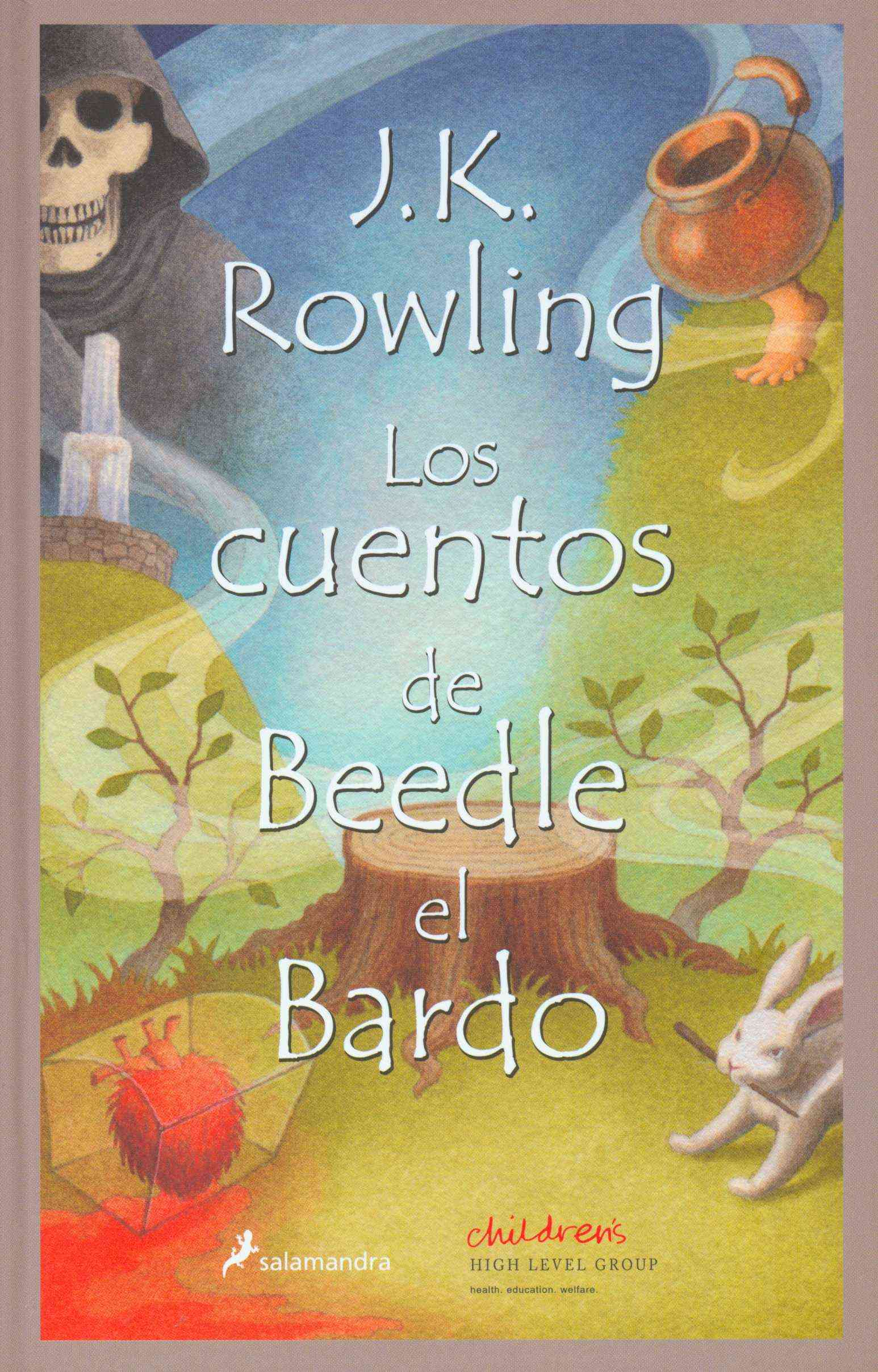 Los Cuentos de Beedle el Bardo / The Tales of Beedle the Bard (Hardcover)