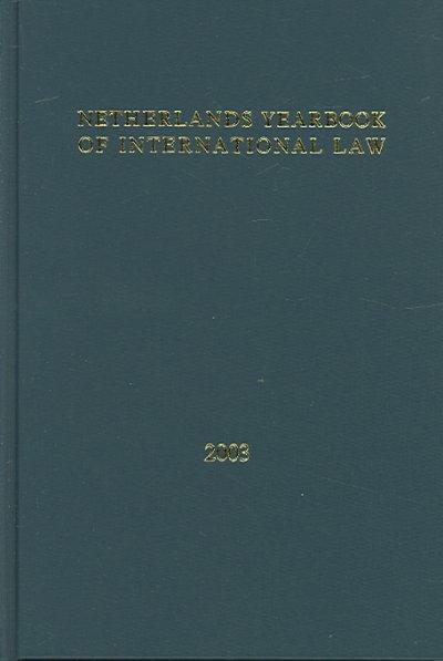 Netherlands Yearbook Of International Law (Hardcover)