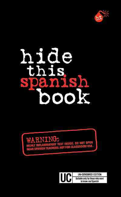 Berlitz Hide This Spanish Book (Paperback)