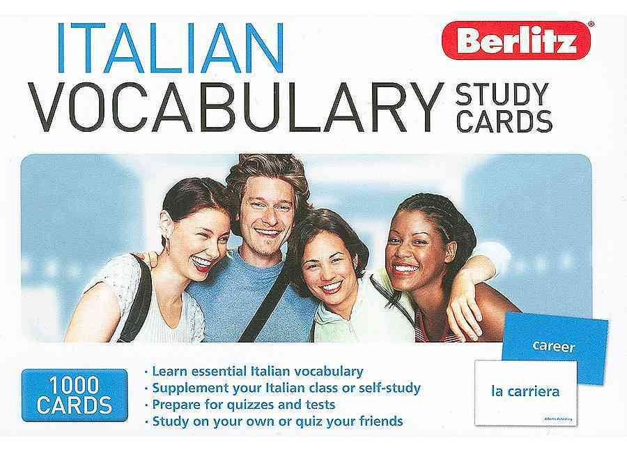 Italian Vocabulary Study Cards (Cards)