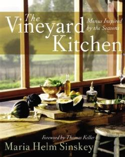 The Vineyard Kitchen: Menus Inspired by the Seasons (Hardcover)