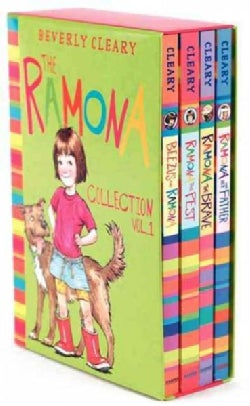 The Ramona Collection: Beezus and Ramona, Ramona and Her Father, Ramona the Brave, Ramona the Pest (Paperback)
