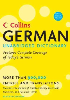 Collins German Dictionary (Hardcover)