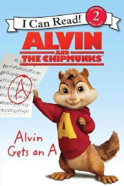 Alvin and the Chipmunks: Alvin Gets an A (Paperback)