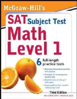 McGraw-Hill&#39;s SAT Subject Test Math Level 1 (Paperback)