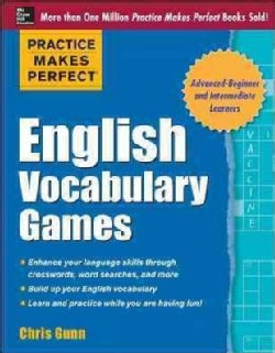 Practice Makes Perfect English Vocabulary Games (Paperback)