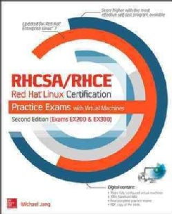 Rhcsa/Rhce Red Hat Linux Certification Practice Exams (Paperback)