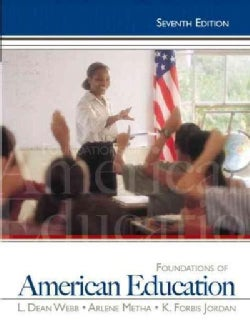 Foundations of American Education (Paperback)