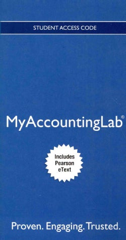Cases in Financial Accounting MyAccountingLab Access Code: Includes Pearson Etext (Other merchandise)