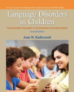 Language Disorders in Children: Fundamental Concepts of Assessment and Intervention (Paperback)
