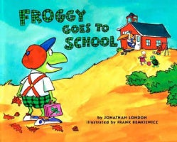Froggy Goes to School (Paperback)