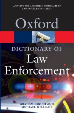 A Dictionary of Law Enforcement (Paperback)