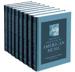 The Grove Dictionary of American Music (Hardcover)